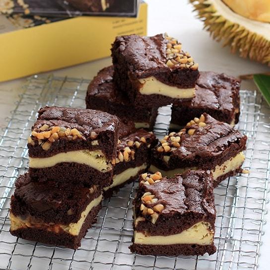 Durian-Brownies